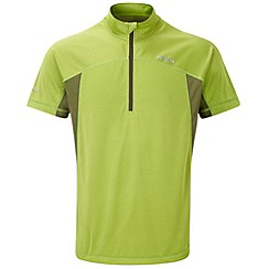 Tog 24 - Bright lime cairn tcz bamboo zip neck