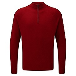 Tog 24 - Rio red calder merino zip neck jumper