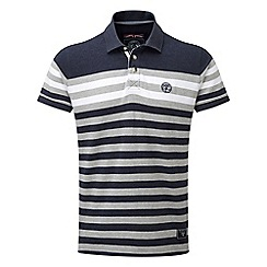 Tog 24 - Navy campbell stripe polo shirt