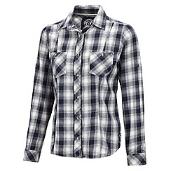 Tog 24 - Midnight check canada cotton shirt