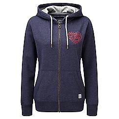 Tog 24 - Damsonml heart cara deluxe zip hoodie heart