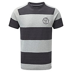 Tog 24 - Light grey/grey carr stripe t-shirt