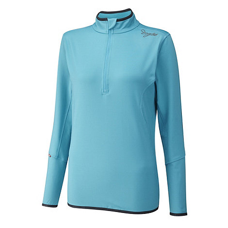 Tog 24 - Blue Cassa Tcz Stretch Zip Neck