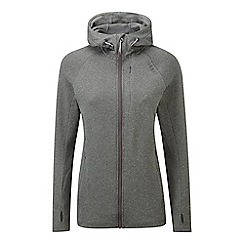 Tog 24 - Dark grey marl cerys tcz stretch zip hoody