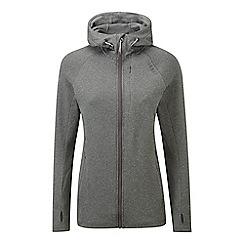 Tog 24 - Dark grey marl cerys tcz stretch zip hoody