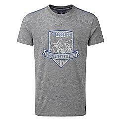 Tog 24 - Dark grey marl chapman deluxe t-shirt shield
