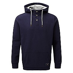 Tog 24 - Navy christie deluxe button hoodie