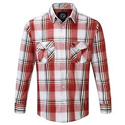 Tog 24 - Rust check cirrus tcz cotton shirt