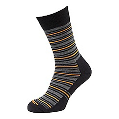 Tog 24 - Black col merino sock 2 pack