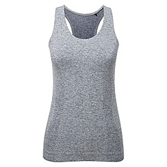 Tog 24 - Dark grey marl commit tcz stretch seamless vest