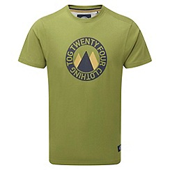 Tog 24 - Light khaki multi cosmos t-shirt