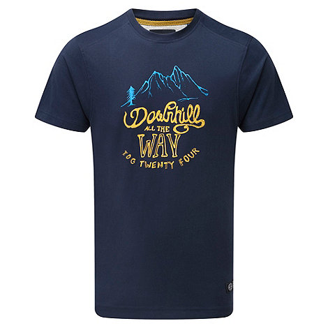 Tog 24 - Midnight downhill print cosmos t-shirt