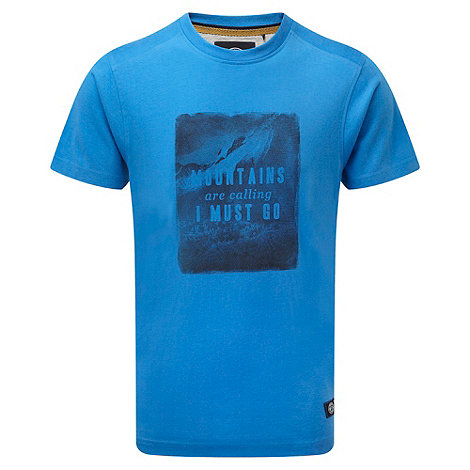 Tog 24 - Captain blue mountain print cosmos t-shirt