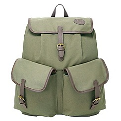 Tog 24 - Green cotswold canvas backpack