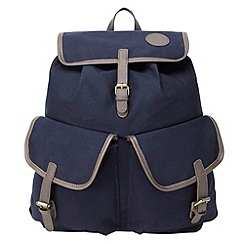 Tog 24 - Dark midnight cotswold canvas backpack