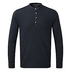 Tog 24 - Navy marl cowan deluxe long sleeve t-shirt