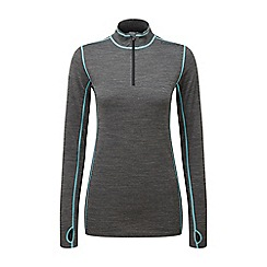 Tog 24 - Grey/sky creation tcz merino zip neck