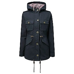 Tog 24 - Navy croon womens cotton twill jacket