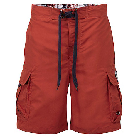 Tog 24 - Rust red cruz swim shorts