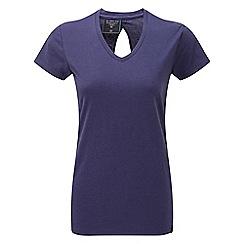 Tog 24 - Damson daisy dri-release wool t-shirt