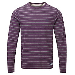 Tog 24 - Plum/dark grey dakota long sleeve t-shirt