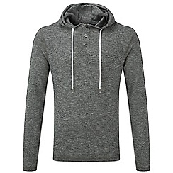 Tog 24 - Dark grey marl davis deluxe hooded t-shirt