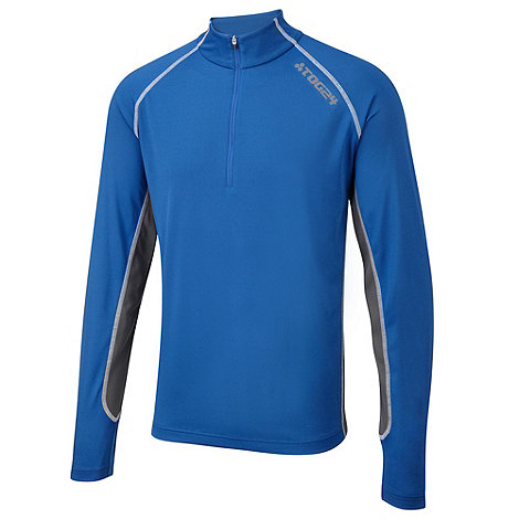 Tog 24 - Blue delta powerdry zip neck