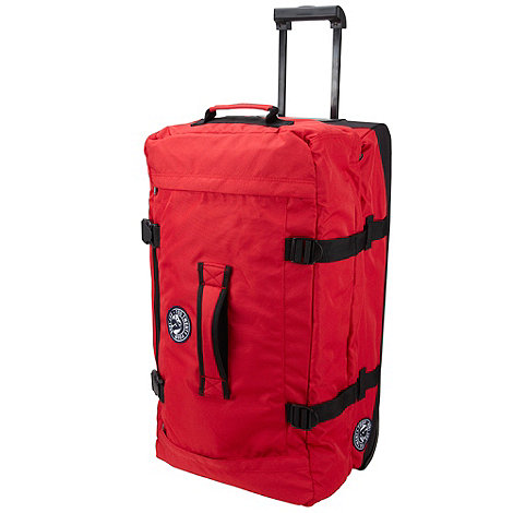 Tog 24 - Bright red devil 121l roller bag