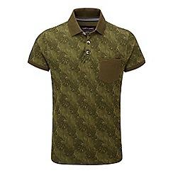 Tog 24 - Military green devlin polo shirt