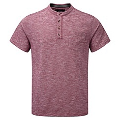 Tog 24 - Rio red dingham button neck t-shirt