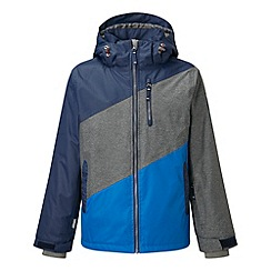 Tog 24 - Midnight/grey/blue doodle milatex jacket
