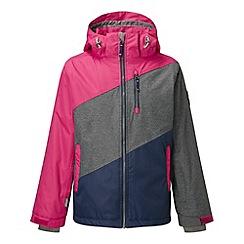 Tog 24 - Rose/grey/mid doodle milatex jacket