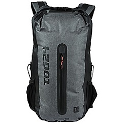 Tog 24 - Grey downpour 15l waterproof backpack