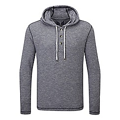 Tog 24 - Navy marl doyle deluxe hooded t-shirt