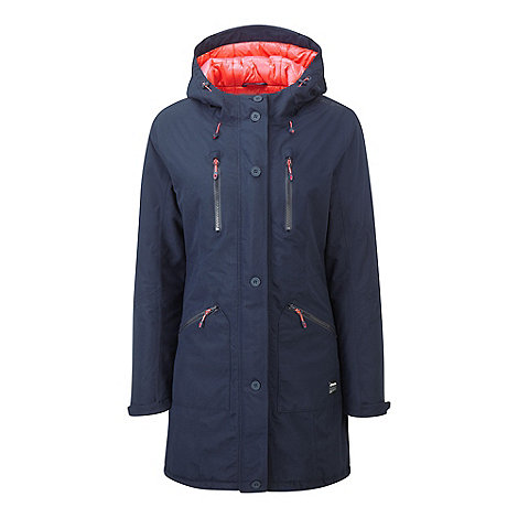 Tog 24 Navy drift milatex performance parka jacket | Debenhams