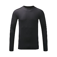 Tog 24 - Black dynamic mens tcz diamond long sleeve crew neck