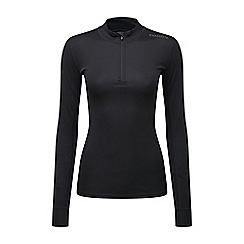 Tog 24 - Black dynamic diamond dry zip neck