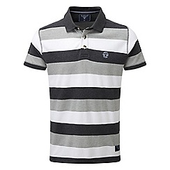 Tog 24 - Dark grey dyson stripe polo shirt