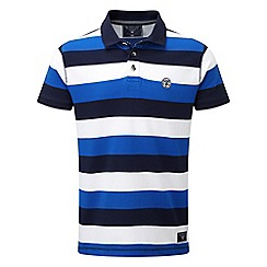 Tog 24 - Ocean blue dyson stripe polo shirt
