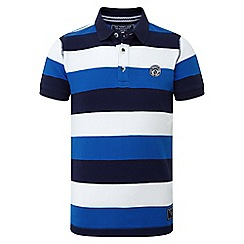 Tog 24 - Boys' ocean blue dyson stripe polo shirt