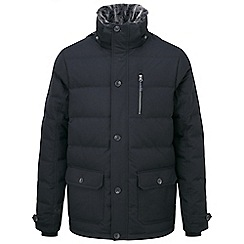Tog 24 - Black eider down jacket
