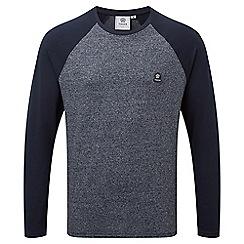 Tog 24 - Navy marl eston long sleeve t-shirt