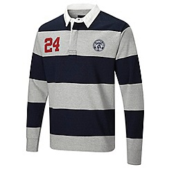 Tog 24 - Light grey marl eton rugby shirt