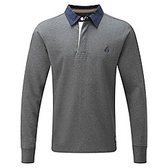 Tog 24 - Dark grey marl eton plain rugby shirt