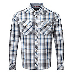 Tog 24 - Ocean check eugene long sleeve shirt