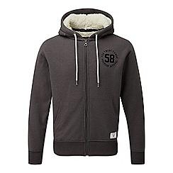 Tog 24 - Dark grey marl exeter tcz sherpa zip hoody