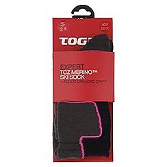 Tog 24 - Navy expert merino/diamond dry ski sock
