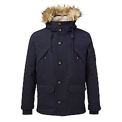 Tog 24 - Navy fairmount milatex/down parka jacket
