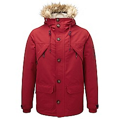 Tog 24 - Chilli red fairmount milatex/down parka jacket