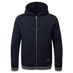 Tog 24 - Navy ferguson sherpa fleece lined hoodie